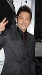 "HOLLYWOOD, CA. - November 19: Rain Raizo arrives at the ""Ninja Assassin"" Los Angeles Premiere at the Grauman's Chinese Theatre on November 19, 2009 in Hollywood, California."