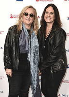 LOS ANGELES - JANUARY 24: Melissa Etheridge and Linda Wallem at the 2020 MusiCares Person of the Year tribute concert honoring Aerosmith on January 24, 2020 in Los Angeles, California. (Photo by Scott Kirkland/PictureGroup)