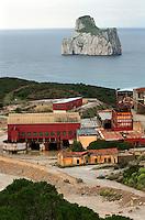 Italia, Sardegna, Sulcis.<br /> Miniera di Masua.<br /> Italy, Sardinia, Sulcis.<br /> Masua coal mine.