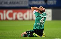 FUSSBALL   CHAMPIONS LEAGUE   SAISON 2013/2014   PLAY-OFF FC Schalke 04 - Paok Saloniki        21.08.2013 Benedikt Hoewedes (FC Schalke 04)