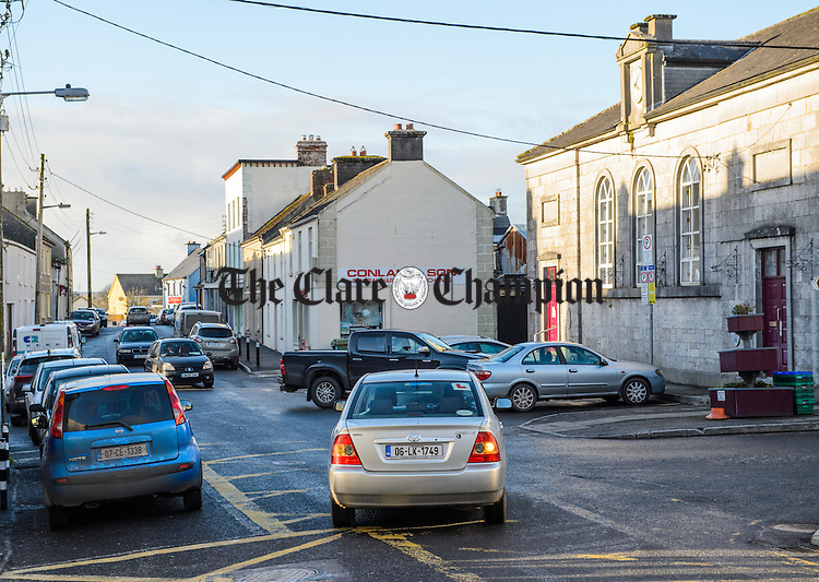 A general view of Main Street, Tulla. Photograph by John Kelly.