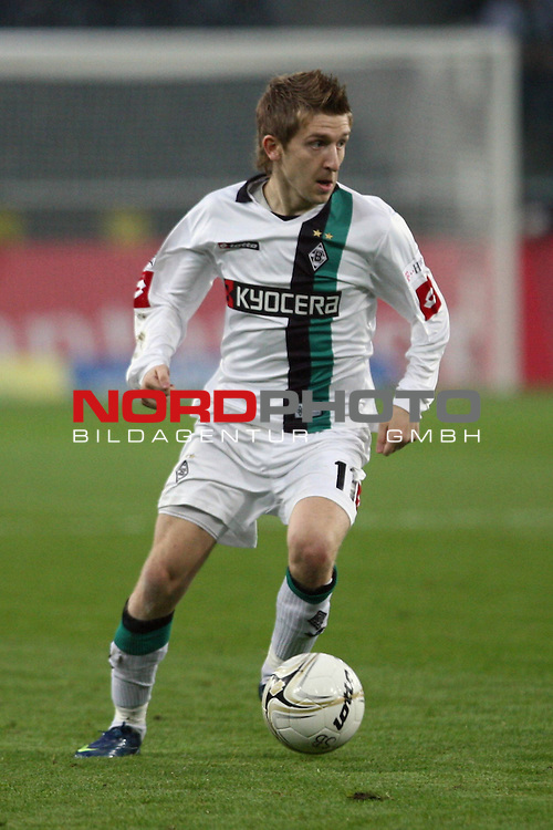 1. Bundesliga  2008/2009, 11. Spieltag<br /> Borussia Moenchengladbach : Eintracht Frankfurt<br /> <br /> Marko Marin (Moenchengladbach #11)<br /> <br />                                                                                                   Foto:  nph (  nordphoto  )