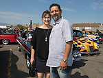 Adela and Carlos Martinez during the Hot August Nights Pre-Kickoff Party at the Bonanza Casino in Reno, Nevada on Sunday, August 6, 2017.