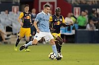Kansas City, KS - Wednesday September 20, 2017: Matt Besler during the 2017 U.S. Open Cup Final Championship game between Sporting Kansas City and the New York Red Bulls at Children's Mercy Park.