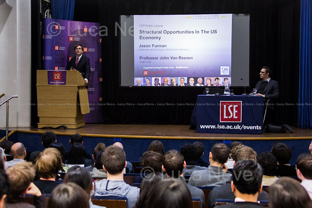 (From L to R) Jason Furman &amp; John Van Reenen.<br />