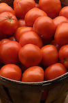italian tomatoes in basket