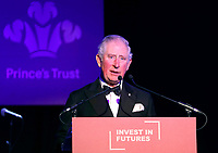 07 February 2019 - Prince Charles, Prince Of Wales speaks during the Prince's Trust Invest In Futures Reception at The Savoy Hotel in London. Over the past 13 years, The Princes Trusts 'Invest in Futures' event has encouraged donors to help disadvantaged young people into work, training or enterprise. Photo Credit: ALPR/AdMedia