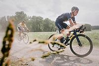 Casper Pedersen (DEN/Aqua Blue)<br /> <br /> 3rd Dwars Door Het hageland 2018 (BEL)<br /> 1 day race:  Aarschot &gt; Diest: 198km