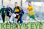 Colm Cooper Dr Crokes orchestrates another attack under pressure from Padraig O'Connor Gneeveguilla during East Kerry semi final in Fitzgerald Stadium on Saturday