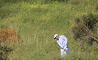 Matthew Southgate (ENG) in the rough on the 12th during Round 1 of the Rocco Forte Sicilian Open 2018 on Thursday 10th May 2018.<br /> Picture:  Thos Caffrey / www.golffile.ie<br /> <br /> All photo usage must carry mandatory copyright credit (&copy; Golffile | Thos Caffrey)