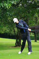 Tiernan McLarnon (Massereene) on the 3rd tee during round 1 of The Mullingar Scratch Cup in Mullingar Golf Club on Sunday 3rd August 2014.<br /> Picture:  Thos Caffrey / www.golffile.ie