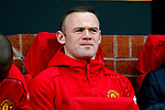 Wayne Rooney of Manchester United watches from the bench during the UEFA Europa League Quarter Final 2nd Leg match at Old Trafford, Manchester. Picture date: April 20th, 2017. Pic credit should read: Matt McNulty/Sportimage