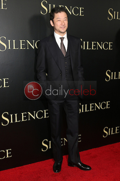 Tadanobu Asano<br /> at the &quot;Silence&quot; Premiere, Directors Guild of America, Los Angeles, CA 01-05-17<br /> David Edwards/DailyCeleb.com 818-249-4998