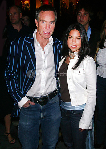 TOMMY HILFIGER & DAUGHTER  <br /> ALLY HILFIGER 2002<br /> Photo By John Barrett/PHOTOlink/MediaPunch
