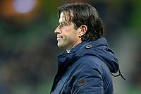 GRONINGEN - Voetbal, FC Groningen - Willem II,  Eredivisie , Noordlease stadion, seizoen 2017-2018, 20-10-2017,   FC Groningen trainer Ernest Faber