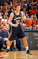 Notre Dame guard Steve Vasturia (32) during the game Saturday, February 22, 2014,  in Charlottesville, VA. Virginia won 70-49.