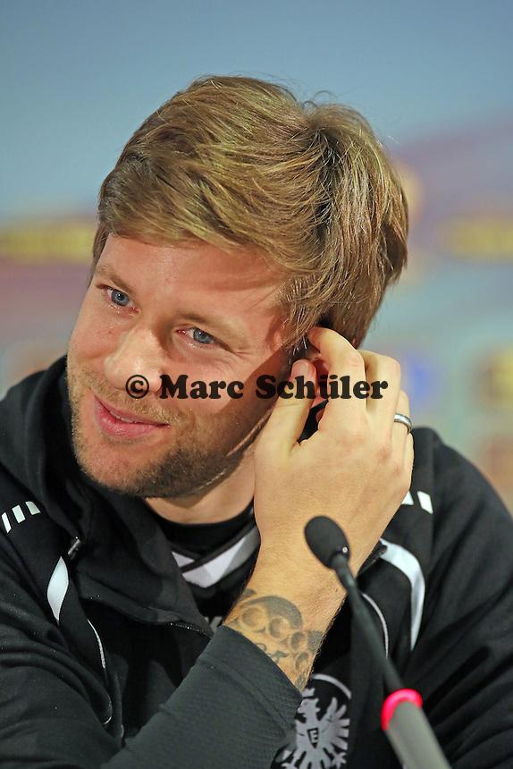 Marco Russ(Eintracht) - Eintracht Frankfurt Europa League Pressekonferenz