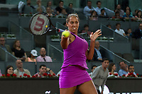 Madison Keys during the match of the Charity day previus at Madrid Open Tenis 2017in  Madrid, Spain. May 04, 2017. (ALTERPHOTOS/Rodrigo Jimenez) /NORTEPHOTO.COM