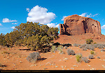 Elephant Butte, Monument Valley Navajo Tribal Park, Navajo Nation Reservation, Utah/Arizona Border