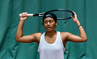 Wateringen, The Netherlands, March 16, 2018,  De Rhijenhof , NOJK 14/18 years, Nat. Junior Tennis Champ.  Dainah Cameron (NED)<br />  Photo: www.tennisimages.com/Henk Koster