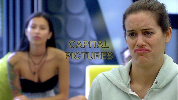 Celebrity Big Brother, Summer 2016, Day 15<br /> Evelyn and Emma.<br /> *Editorial Use Only*<br /> CAP/KFS<br /> Image supplied by Capital Pictures
