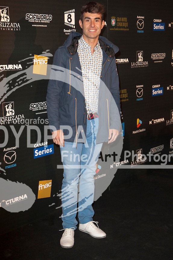 """Celebrities attend """"Nocturna"""" Madrid Fantastic Film Festival. In the image: Dani Muriel at Palafox Cinema in Madrid Spain. May 28, 2013  Nacho Lopez / DYD FOTOGRAFOS-DYDPPA"""