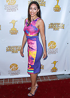 BURBANK, CA, USA - JUNE 26: Actress Korrina Rico arrives at the 40th Annual Saturn Awards held at The Castaway on June 26, 2014 in Burbank, California, United States. (Photo by Xavier Collin/Celebrity Monitor)