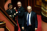 Roberto Gualtieri Minister of Economy<br /> Rome December 12th 2019. Speech of the Italian Premier about MES, European Stability Mechanism.<br /> Foto Samantha Zucchi Insidefoto