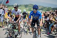 Mikel Landa (ESP/SKY) up the crazy steep Muro di Ca' del Poggio (max 18%)<br /> <br /> Stage 20: Pordenone &rsaquo; Asiago (190km)<br /> 100th Giro d'Italia 2017