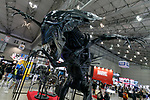 A life size replica of Alien Queen on display during the Tokyo Comic Con 2017 at Makuhari Messe International Exhibition Hall on December 1, 2017, Tokyo, Japan. This is the second year that San Diego Comic-Con International held the event in Japan. Tokyo Comic Con runs from December 1 to 3. (Photo by Rodrigo Reyes Marin/AFLO)