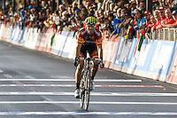 Bronze medallist Spain's Alejandro Valverde<br /> Men's elite road race at the UCI Road World Championships in Florence September 29, 2013 <br /> Firenze 29/9/2013 <br /> Mondiali Ciclismo Strada Pro <br /> Foto Serlingen / Insidefoto