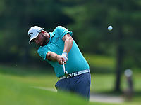 Potomac, MD - June 29, 2017: Marc Leishman plays his shot from the rough on the 18th hole during Round 1 of professional play at the Quicken Loans National Tournament at TPC Potomac at Avenel Farm in Potomac, MD, June 29, 2017.  (Photo by Don Baxter/Media Images International)