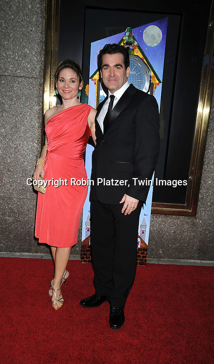 Brian d' Arcy James and wife Jennifer
