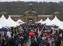 29/11/15<br /> <br /> Thousands brave the wind and rain to visit the Christmas market at Chatsworth House, in the Derbyshire Peak District.<br />  <br /> All Rights Reserved: F Stop Press Ltd. +44(0)1335 418365   +44 (0)7765 242650 www.fstoppress.com