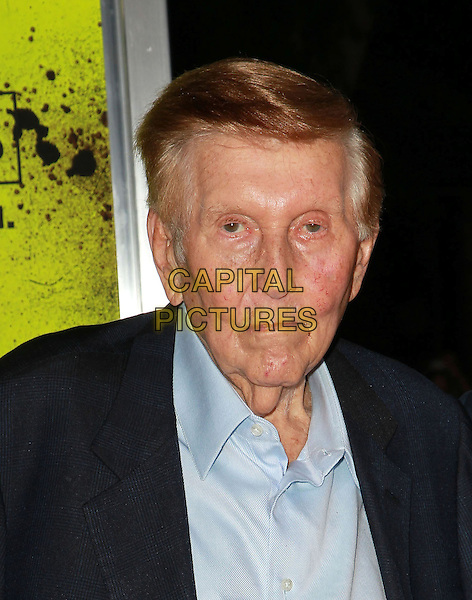 "Sumner Redstone.""Seven Psychopaths"" - Los Angeles Premiere Held At The Mann Bruin Theatre, Westwood, California, USA..October 1st, 2012.headshot portrait black blue suit shirt.CAP/ADM/KB.©Kevan Brooks/AdMedia/Capital Pictures."