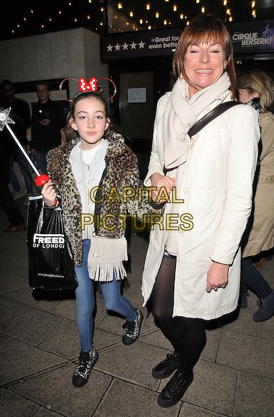 Ella-Rose Barclay &amp; Doon Mackichan attend the Zippo's Cirque Berserk! press night, Peacock Theatre, Portugal Street, London, UK, on Tuesday 09 February 2016.<br /> CAP/CAN<br /> &copy;CAN/Capital Pictures
