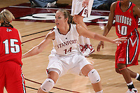 STANFORD, CA - DECEMBER 13:  Kayla Pedersen of the Stanford Cardinal during Stanford's 100-62 win over the Fresno State Bulldogs on December 13, 2008 at Maples Pavilion in Stanford, California.