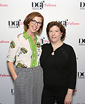 Sheri Wilner and Laura Brandel attend the reception for the 2018 Presentation of New Works by the DGF Fellows on October 15, 2018 at the Playwrights Horizons Theatre in New York City.