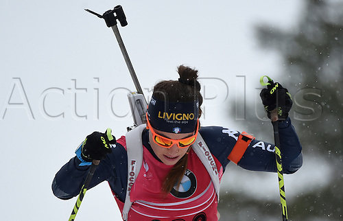 09.03.2016. Holmenkollen, Oslo, Norway. IBU Biathlon World Cup.  Female Biathlete Dorothea Wierer of Italy in action during the Women 15km Individual competition at the Biathlon World Championships, in the Holmenkollen Ski Arena, Oslo, Norway, 09 March 2016.