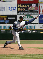 April 11, 2004:  /p/ Mark Lukasiewicz of the Syracuse Sky Chiefs, Class-AAA International League affiliate of the Toronto Blue Jays, during a game at Frontier Field in Rochester, NY.  Photo by:  Mike Janes/Four Seam Images