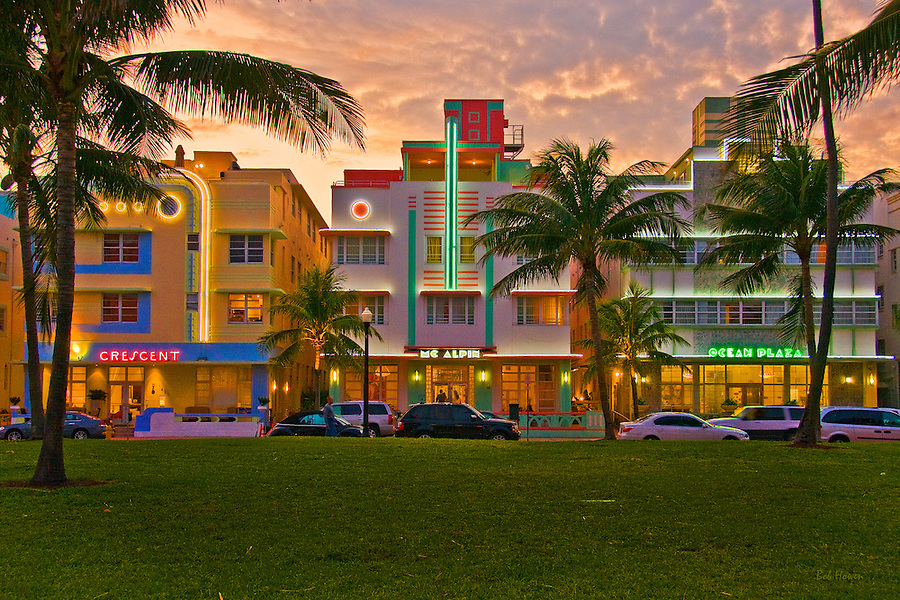 """Images from """"At Water's Edge"""" Exhibition. Image from South Beach, Florida"""