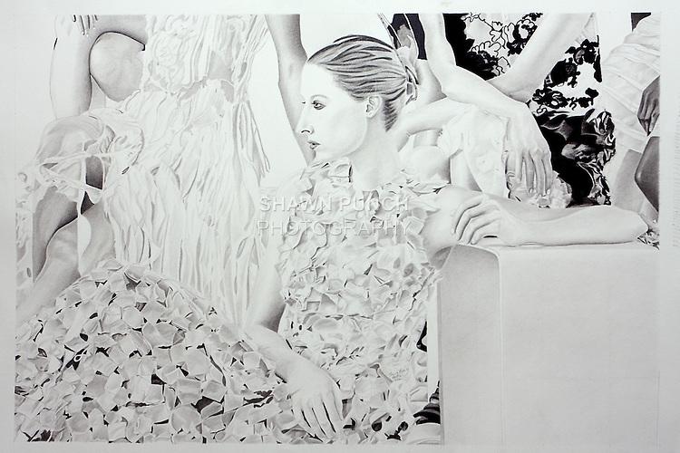 Fabiola Arias Orishas 24 x 34 in (60 x 86.36 cm)
