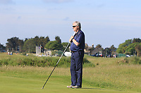 Matthew McClean (Malone) Dad on the 1st green during Round 2 of the East of Ireland Amateur Open Championship 2018 at Co. Louth Golf Club, Baltray, Co. Louth on Sunday 3rd June 2018.<br /> Picture:  Thos Caffrey / Golffile<br /> <br /> All photo usage must carry mandatory copyright credit (&copy; Golffile | Thos Caffrey)