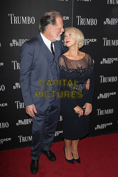 NEW YORK, NY - NOVEMBER 3: Helen Mirren at the special Bleecker Street screening of Trumbo at MoMA TiTUS 2 on November 3, 2015 in New York City.  <br /> CAP/MPI99<br /> &copy;MPI99/Capital Pictures