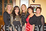 Local friends Sharon Kelly, Julie Walace, Marina McDonagh, Grace Wallace and Gretta Harnett enjoying Little Christmas last Sunday night in Leen's Hotel, Abbeyfeale.