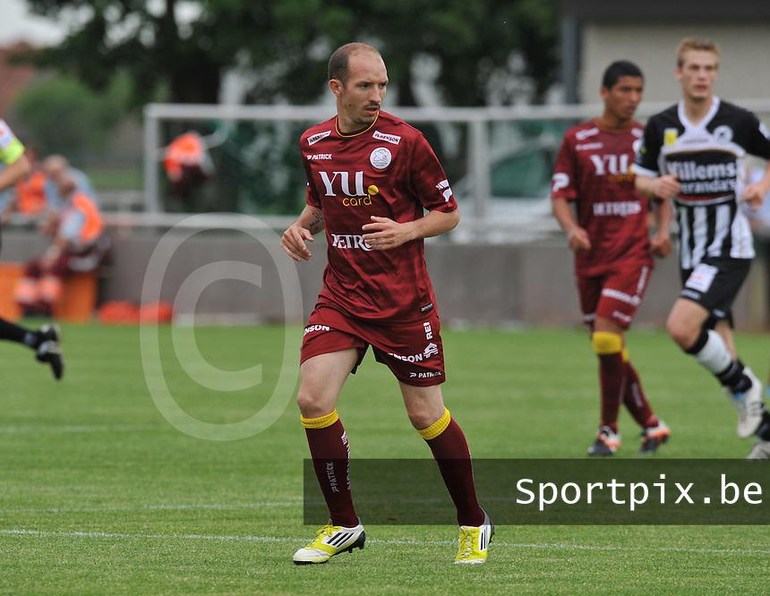 SV Zulte - Waregem : Franck Berrier.foto VDB / BART VANDENBROUCKE