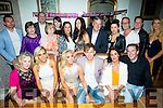 Laura Flaherty from Rockpark Avenue Tralee celebrating her 21st birthday with friends,family and boyfriend in Bella Bia on Saturday night