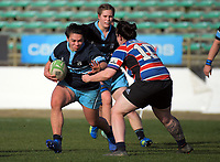 Action from the 2019 Manawatu premier women's club rugby Prue Christie Cup final match between Feilding Old Boys Oroua and Kia Toa at CET Arena in Palmerston North, New Zealand on Saturday, 13 July 2019. Photo: Dave Lintott / lintottphoto.co.nz