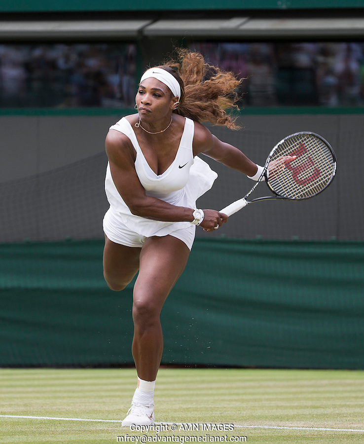SERENA WILLIAMS (USA)<br /> <br /> The Championships Wimbledon 2014 - The All England Lawn Tennis Club -  London - UK -  ATP - ITF - WTA-2014  - Grand Slam - Great Britain -  26th June 2014. <br /> <br /> &copy; AMN IMAGES