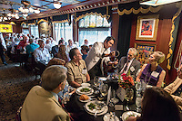 Luncheon for the Ben Culley Society at the Magic Castle in Los Angeles on Oct. 9, 2014. (Photo by Marc Campos, Occidental College Photographer)